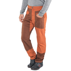 E9 Blat2 - Pantalon long Homme - orange/rouge